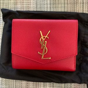 YSL Uptown compact wallet